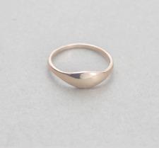 Mejuri minimalistic golden ring - size 7