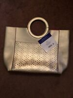 Elizabeth Taylor White Diamonds Gold Tote Bag