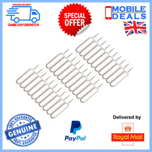 30 x Universal Sim Card Eject Tool Opening Key For iPhone Samsung iPad Huawei