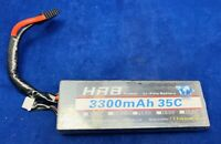 HRB 4S 14.8v 3300mAh 35C Lipo Battery Pack With T PLUG For RC Helicopter