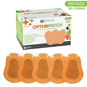 Optho-Patch Kids Eye Patches - Beige 90 + 10 Bonus Latex Free Hypoallergenic For