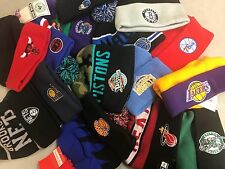 US SELLER lot of 15 NEW Wholesale men's NBA beanies / beanie /  assort/mix osfa