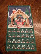 AVON VINTAGE CHRISTMAS COUNTDOWN- ADVENT CALENDAR W/ ORIGINAL MOUSE