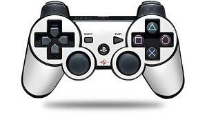 Skin for PS3 Controller Solids Collection White CONTROLLER NOT INCLUDED