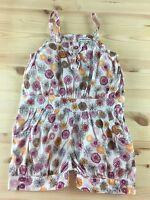 Vertbaudet Girls Clothing Summer Short Multi Color Romper 86 cm 2 years