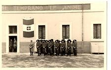 WW2 FOTO CASERMA BERSAGLIERI BANDIERA SABAUDA ROMA REGIO ESERCITO SAVOIA FTG2