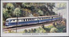 Single: No.35 GERMAN DIESEL FLYER - SPEED - Wills Ltd 1938