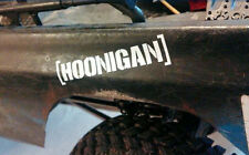1/10 Scale Accessory HOONIGAN Stickers rc crawler drifter scx10II rc4wd tf2