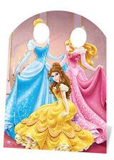 Disney Prinzessin Standin KINDERGRÖßE PAPP FIGUR AUFSTELLER STANDUP Belle Aurora