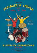 Schlagzeug lernen mit Frida & Paul, Schlagzeugschule ab 6 Jahre, Andreas Schwarz