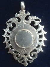 Attractive Silver Medal / Watch Fob 1897 Birmingham - Henry Pope  - not engraved