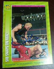 Sycho Sid Vicious Signed Auto 1996 WWF Magazine Card #56 Autographed WWE Justice