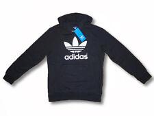 ADIDAS Originals Kinder Hoody Kapuzenpullover Sweatshirt Baumwolle schwarz