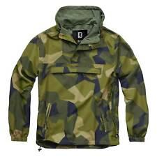 BRANDIT SUMMER WINDBREAKER M90 SWEDISH CAMO Tactical Military Hooded Jacket