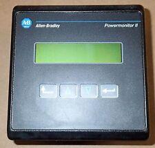 ALLEN-BRADLEY POWERMONITOR II DISPLAY 1403-DMB SERIES B FRN. 1.0