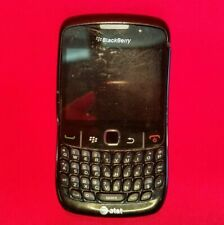 Blackberry Curve 8520 Black Cell Phone Smartphone AT&T *UNTESTED* No Battery