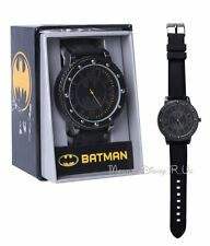 New DC Comics Batman Logo Rubber Strap Wrist Watch Wristband Oficially Licenced
