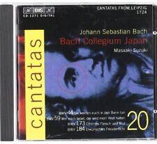 Masaaki Suzuki, J.S. Bach - Cantatas 20 [New CD]