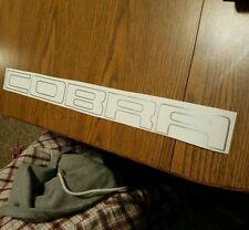 96-01 cobra outline bumper rear decals stickers mustang svt