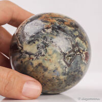 470g 68mm Natural Pietersite Quartz Crystal Sphere Healing Ball Chakra Stone