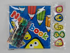 24x Note Book & wax Crayons Wholesale Jo bLot Party Bags Toys Pocket Money Items