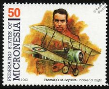 Sir Thomas SOPWITH CAMEL WWI Figher Biplane Aircraft Stamp