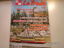 **b Le train n°298 Les voitures DEV AO de Lematec / CC 72040 de ROCO en H0