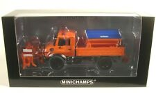 "MINICHAMPS 1 43 Scale ""mercedes BENZ Unimog 1300 L Schneepflug"" Car With"
