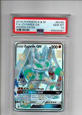 New listing Pokemon Tcg Psa 10 Full Art Shiny Zygarde Gx x1 Pokemon Gem Mint