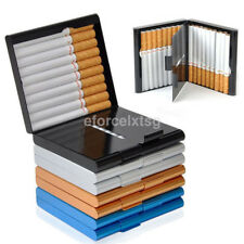 Aluminum Metal Cigar Pocket Cigarette Box Holder Cigarette Storage Case-4 Colors