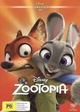 ZOOTOPIA DVD DISNEY NEW & SEALED- FREE POSTAGE! REGION 4