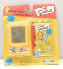 Rare The Simpsons ArtBox Official Film Cards Bart Film Viewer & 5 Card Pack 2000