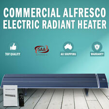 NEW 2400W Commercial Alfresco Radiant Strip Heater Electric Indoor Outdoor