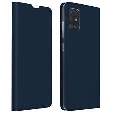 Funda Samsung Galaxy A51 Cartera cierre magnético y Soporte - Azul oscuro
