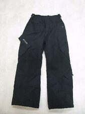 Columbia Vertex Black Waterproof Insulated Ski Snowboard Snow Pants Youth size 8