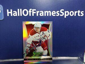 2013-14 Panini Select Hockey Alex Ovechkin Silver Prizm Refractor Card