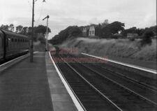 PHOTO  GWR CRICCIETH RAILWAY STATION 7/8/61 VIEW ABERYSTWYTH AND WELSH COAST RAI