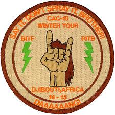 USN PATROL SQUADRON FOUR (VP-4) PATCH - COMBAT AIR CREW 1- - WINTER TOUR