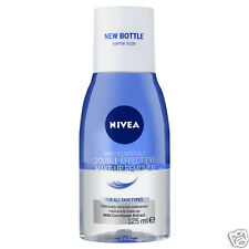 2 x Nivea Daily Essentials Double Effect Eye Make-Up Remover 125ml