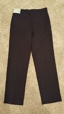 Men's JF J.Ferrar Black Dress Pants Flat Front Slim Fit 30x30 NWT