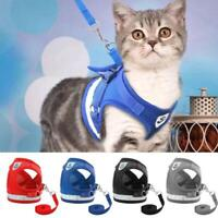 Dog Leads Harness Leads Collars Puppy For S-3XL Dog Coats Warning T1Y5