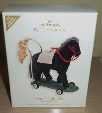 2008 Hallmark Ornament Nib ~ Special Edition ~ A Pony for Christmas