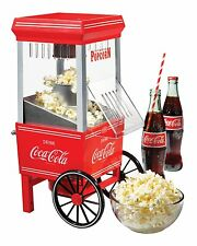 Nostalgia Electrics Coca-Cola Series 12 Cup Hot Air Popcorn Maker OFP501COKE New