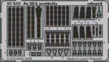 NEW Eduard 32632 1:32 Junkers Ju-88A seat belts PRE-PAINTED IN COLOUR!