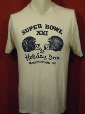 Superbowl XXI - Broncos and Giants - T-shirt - White - XL