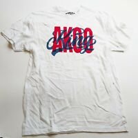 AKOO 100%authentic Mens S/S Tshirt Size large white logo