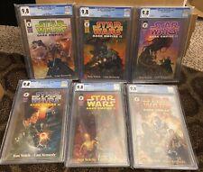 Star Wars Dark Empire II 1 2 3 4 5 6 1-6 All CGC 9.8 White Pages Boba Fett