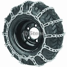 Lawn Mower Tire Chains 18 X 9.50 X 8 2-link spacing for best traction Brand New
