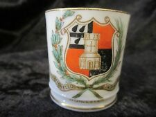 Antique Miniature Cup Hand Painted Royal Worcester 1903