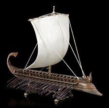 Triere - Antikes Griechisches Kriegsschiff | Ruderschiff Veronese Figur Deko